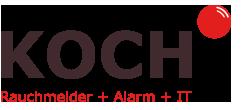 Logo Rauchmelder und Alarm Koch